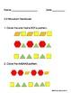 Exit Slips for Kindergarten-Everyday Math Unit 3