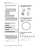 Exit Ticket #1 Math VA SOL 3.2 a,b