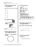 Exit Ticket #2 Math VA SOL 3.2 a,b