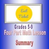 Exit Ticket 3