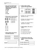 Exit Ticket #3 Math VA SOL 3.1a