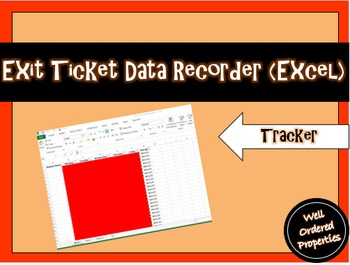 Exit Ticket Data Recorder