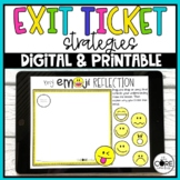 Digital Exit Tickets for Assessments | Distance Learning |