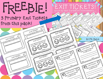 Exit Ticket Freebie!