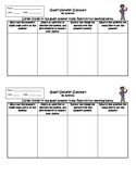 Exit Ticket Guest Speaker Summary or Interactive Notebook output
