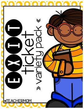 Exit Ticket Pack (Exit Slips)