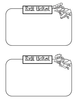 Exit Ticket Pack