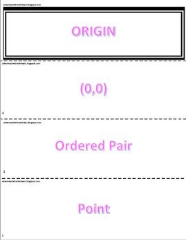 Exit Ticket Passwords: Geometry Terms
