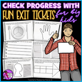 Measure progress with fun Exit Tickets