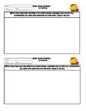 "Exit Ticket Summary or Interactive Notebook Output ""Brain Dump"""