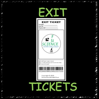 Exit Ticket Template (2 Long)