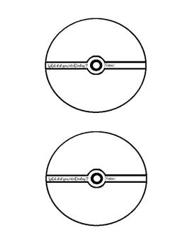 Exit Ticket Template Free (Pokemon Themed - Pokeball)