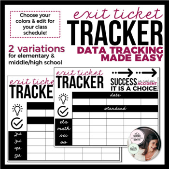 Daily Exit Ticket Tracker