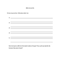 Exit Ticket activity: auditory processing practice