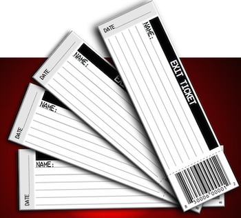 Exit Ticket or Ticket Out the Door Template