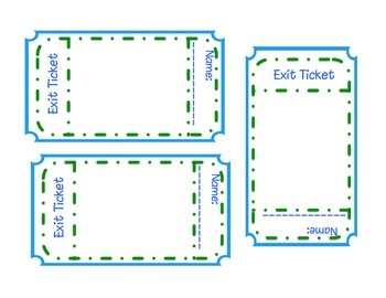 Exit Tickets