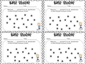Exit Tickets 3rd Grade Math-OA