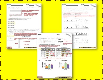 Exit Tickets (3rd Grade Math) TEKS/STAAR-aligned