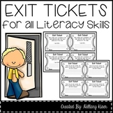Exit Tickets: Complete Bundle