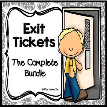 Exit Tickets: The Complete Bundle