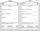 Exit Tickets-All 6th Grade Expressions and Equations Standards