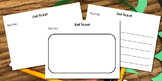 Exit Tickets- Any Subject