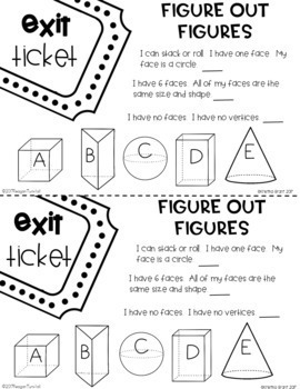 Exit Tickets Bundle for the Year Second Grade