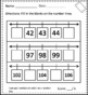 Exit Tickets- Comparing and Ordering Numbers 1st Grade
