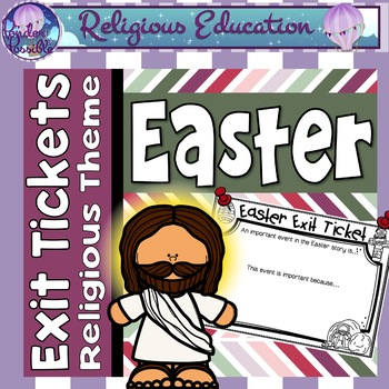 Exit Tickets - Easter / Holy Week