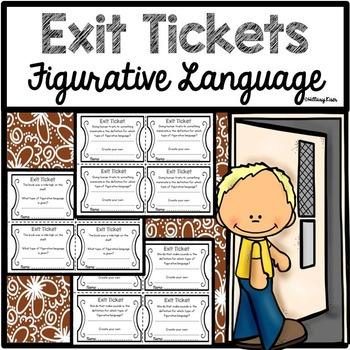 Exit Tickets: Figurative Language