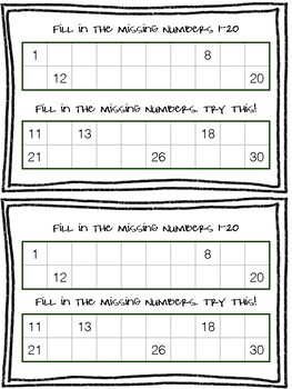 Exit Tickets First Grade (Everyday Math Unit 1)