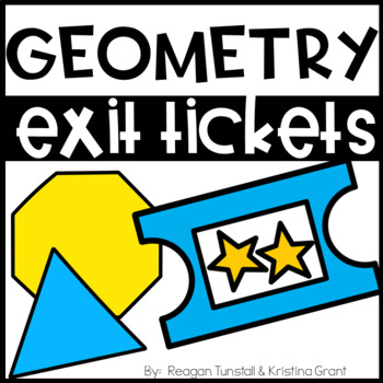 Exit Tickets Geometry