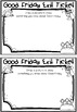 Exit Tickets - Good Friday