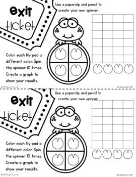 Exit Tickets Kindergarten Graphing