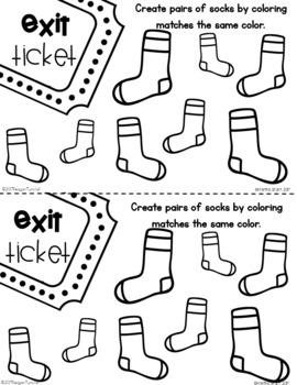 Exit Tickets Kindergarten Measurement