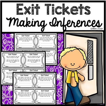Exit Tickets: Making Inferences