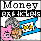 Exit Tickets Money First Grade