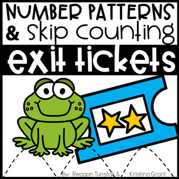 Exit Tickets Number Sense and Skip Counting