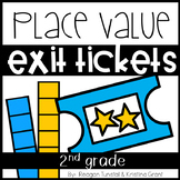 Exit Tickets Place Value Second Grade