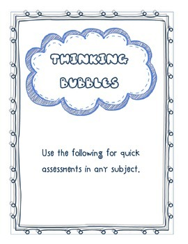 Exit Tickets/ Quick checks