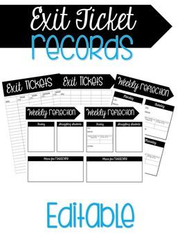 Exit Tickets Records