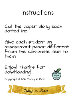 Exit Tickets: Subtraction Word Problems
