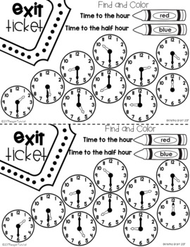 Exit Tickets Time