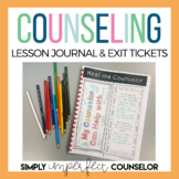 Exit Tickets for Building Character - School Counselor Prompts