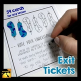 Exit Tickets for any Lesson