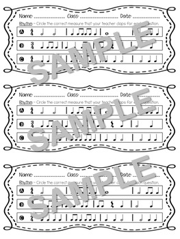 Exit Tickets on the Elements of Music w/ Answer Key for Formative Assessment