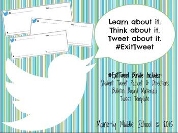 Exit Tweets Bundle