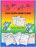 Exit from Class Tickets - with Brain Benefits