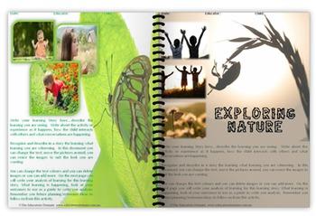 EYLF Exlporing Nature editable pack
