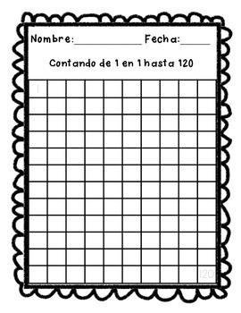 Exámenes de números, sílabas, letras y sus sonidos